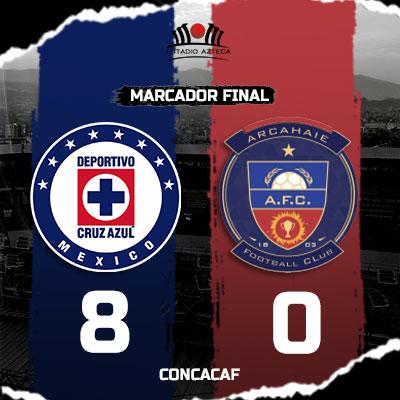 Cruz Azul vs Arcahaie FC