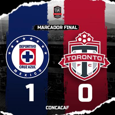 Cruz Azul vs Toronto FC