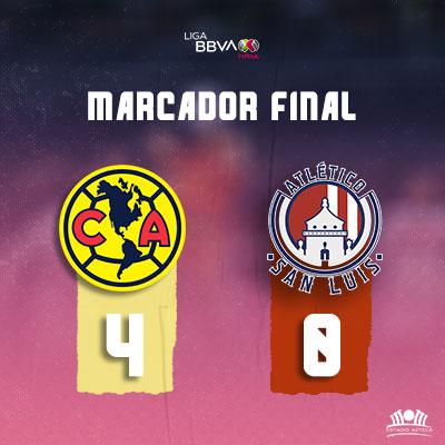 América vs Atlético San Luis Femenil
